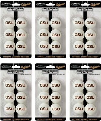 NCAA OREGON STATE Table Tennis 36 Ball Pack - Franklin Sports