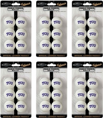 NCAA TCU Table Tennis 36 Ball Pack - Franklin Sports