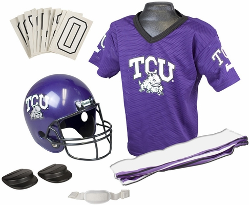 NCAA TEXAS CHRISTIAN Uniform Set - Franklin Sports