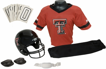 NCAA TEXAS TECH Uniform Set - Franklin Sports