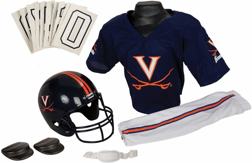 NCAA VIRGINIA Uniform Set - Franklin Sports