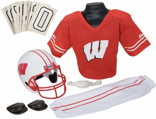 NCAA WISCONSIN Uniform Set - Franklin Sports