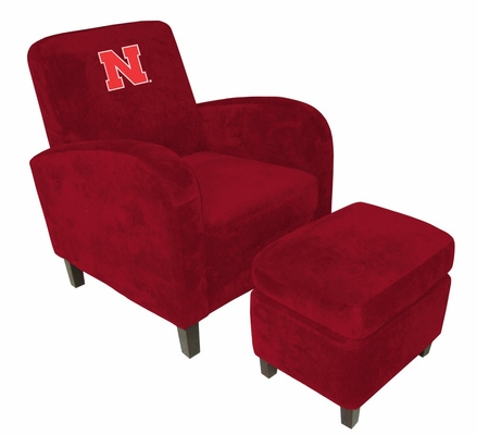 Nebraska Den Chair with Ottoman - Imperial International - 126185