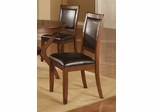 Nelms Dining Chair (Set of 2) in Brown Walnut - Coaster - 102172-SET