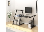 Nero Desk and Bookcase - Z-Line Designs - ZL2021DBU