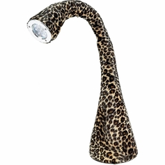 Nessie Table Lamp Leopard - Lumisource