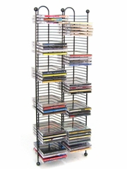 Nestable 100 CD Tower in Gunmetal - Atlantic - 63705079
