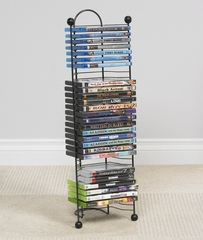 Nestable 32 DVD or Blu-Ray or Games Tower - Atlantic - 63712046
