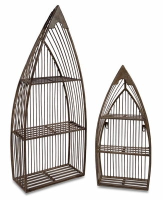 Nesting Boat Shelves (Set of 2) - IMAX - 10667-2
