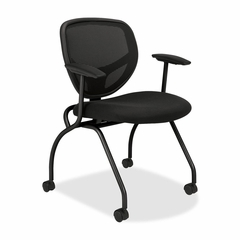 Nesting Chairs w/Arms - Black 2 Count- BSXVL301MM10