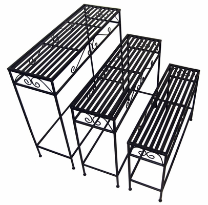 Nesting Patio Sofa Tables (Set of 3) - Pangaea Home and Garden Furniture - BT-FR012-K