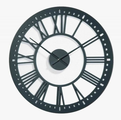 New Haven Oversized Laser Cut Wooden Wall Clock - WR-3601