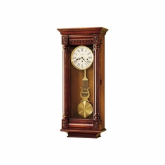 New Haven Wall Clock - Distressed Finish - Howard Miller