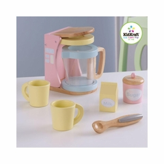 New Pastel Coffee Set - KidKraft
