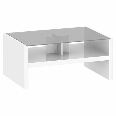 New York Skyline Coffee Table in Plumeria White - Kathy Ireland