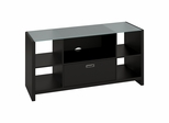 New York Skyline Credenza / TV Stand in Modern Mocha - Kathy Ireland
