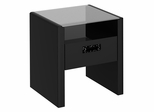 New York Skyline End Table in Modern Mocha - Kathy Ireland