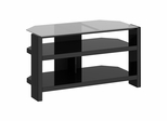New York Skyline TV Stand in Modern Mocha - Kathy Ireland