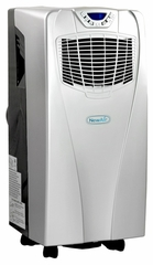 NewAir Portable Air Conditioner and Heater - Silver / Gray