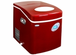 NewAir Red Portable Ice Maker with Ice Scoop