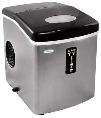 NewAir Stainless Steel Portable Ice Maker