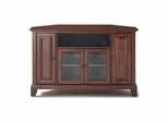 "Newport 48"" Corner AroundSound TV Stand in Vintage Mahogany - CROSLEY-KF1006CASMA"