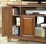 "Newport 48"" TV Stand in Classic Cherry Finish - Crosley Furniture - KF10002CCH"