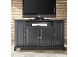 "Newport 60"" TV Stand in Black Finish - Crosley Furniture - KF10001CBK"