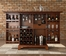 Newport Expandable Bar Cabinet in Classic Cherry Finish - Crosley Furniture - KF40001CCH