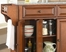 Newport Solid Granite Top Kitchen Island in Classic Cherry Finish - Crosley Furniture - KF30003CCH