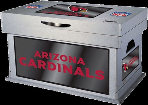 NFL Arizona Cardinals Wood Foot Locker - Franklin Sports