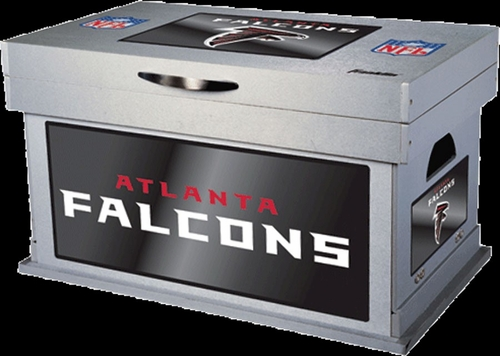 NFL Atlanta Falcons Wood Foot Locker - Franklin Sports