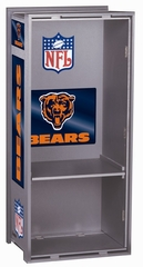 "NFL Bears 36"" Wood Locker - Franklin Sports"