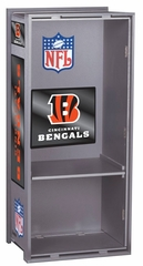 "NFL Bengals 36"" Wood Locker - Franklin Sports"