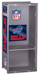 "NFL Bills 36"" Wood Locker - Franklin Sports"