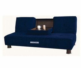 NFL Broncos Convertible Sofa with Tray - Imperial International - 852605