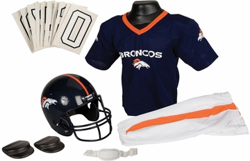 NFL Broncos Uniform Set - Franklin Sports