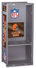 "NFL Browns 36"" Wood Locker - Franklin Sports"