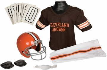 NFL Browns Uniform Set - Franklin Sports