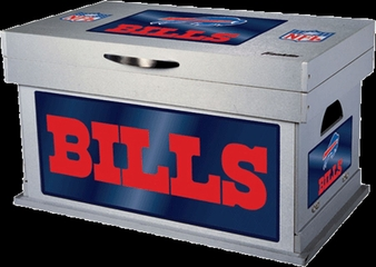 NFL Buffalo Bills Wood Foot Locker - Franklin Sports