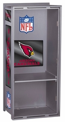 "NFL Cardinals 36"" Wood Locker - Franklin Sports"
