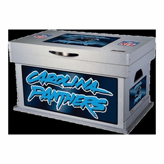 NFL Carolina Panthers Wood Foot Locker - Franklin Sports