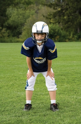 NFL Chargers Uniform Set - Franklin Sports
