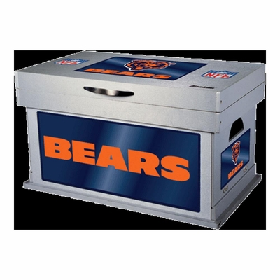 NFL Chicago Bears Wood Foot Locker - Franklin Sports