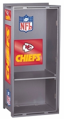 "NFL Chiefs 36"" Wood Locker - Franklin Sports"