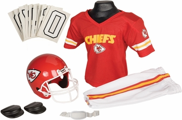 NFL Chiefs Uniform Set - Franklin Sports