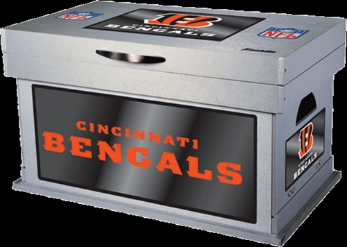 NFL Cincinnati Bengals Wood Foot Locker - Franklin Sports
