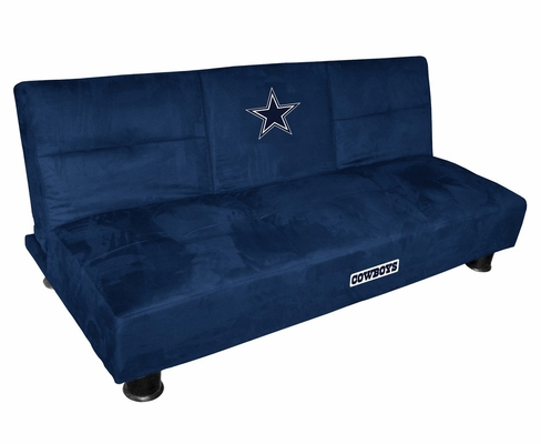 NFL Dallas Cowboys Convertible Sofa with Tray - Imperial International - 852612