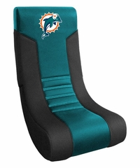 NFL Dolphins Collapsible Video Chair - Imperial International - 312613