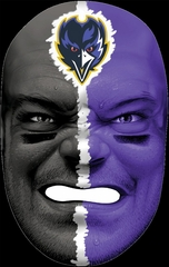 NFL Fan Face Baltimore Ravens - Franklin Sports